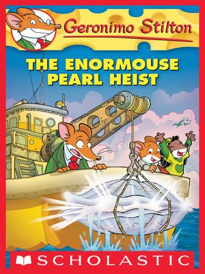 cover image of The Enormouse Pearl Heist